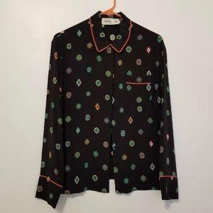 Kenzo x H&M Patterned Silk PJ Shirt